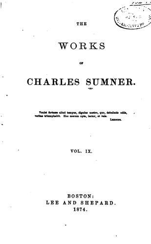 Download The works of Charles Sumner.