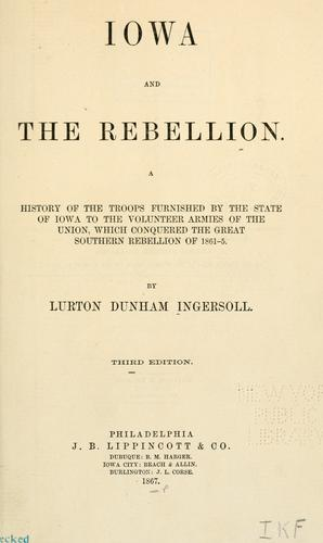 Download Iowa and the rebellion.