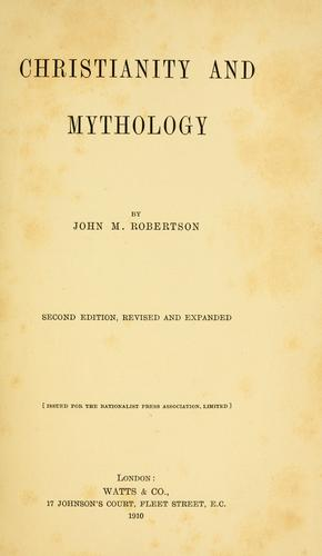 Download Christianity and mythology