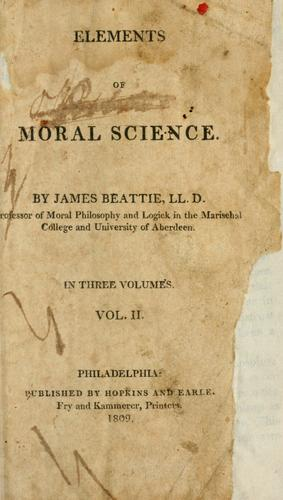 Elements of moral science.