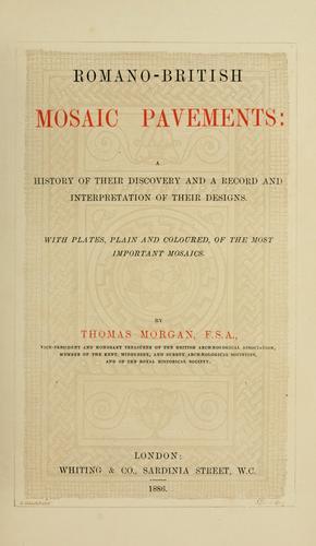 Download Romano-British mosaic pavements