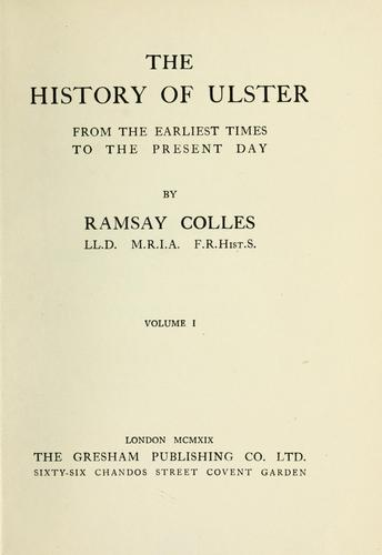 Download The history of Ulster