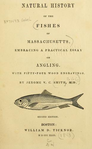 Download Natural history of the fishes of Massachusetts