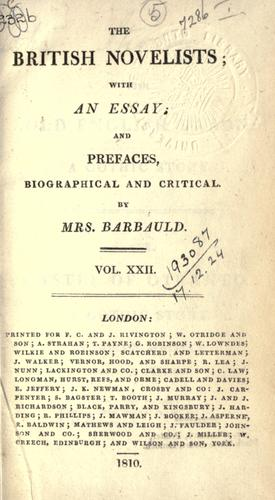 Download The British novelists.