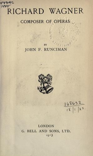 Download Richard Wagner, composer of operas.