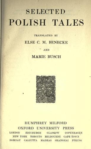 Download Selected Polish tales