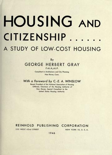 Housing and citizenship