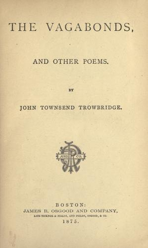 The vagabonds, and other poems.