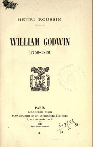 Download William Godwin, 1756-1836.
