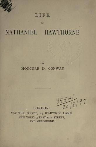 Download Life of Nathaniel Hawthorne.