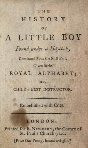 The history of a little boy found under a haycock