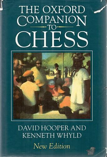 Image for The Oxford Companion to Chess, Second Edition