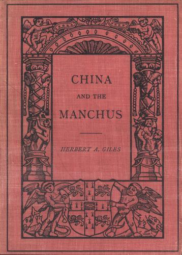 China and the Manchus.