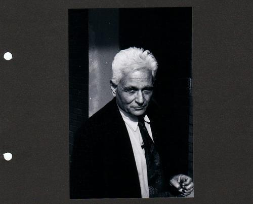 Photo of Jacques Derrida