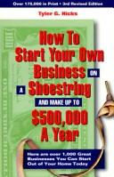 How to start your own business on a shoestring and make up to $500,000 a year