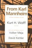 From Karl Mannheim