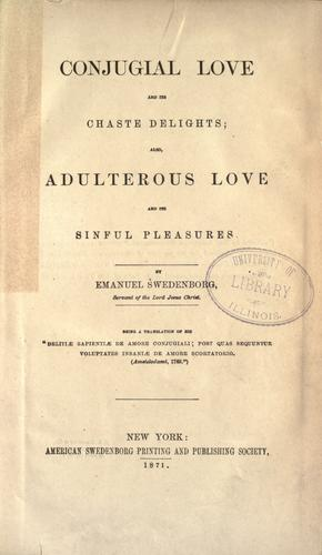 Download Conjugial love and its chaste delights