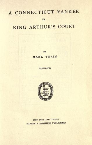 Download A Yankee at the court of King Arthur