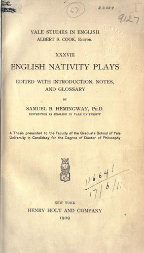 Download English nativity plays