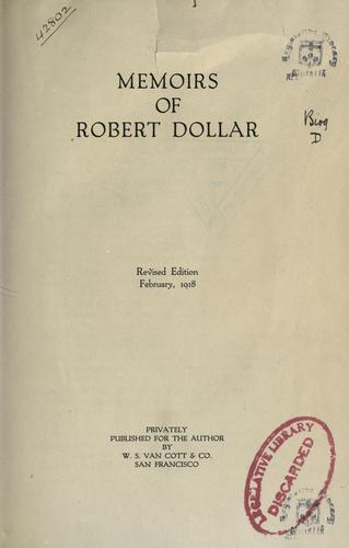 Download Memoirs of Robert Dollar.