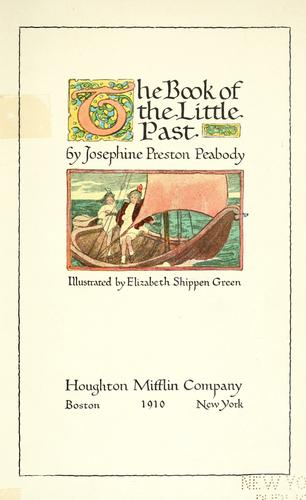 Download The book of the little past