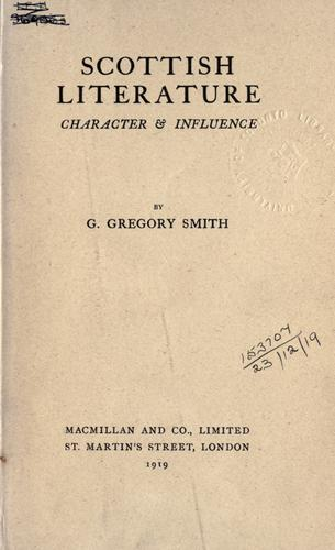 Download Scottish literature, character & influence.