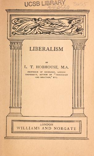 Liberalism.
