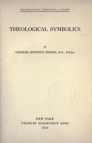 Download Theological symbolics