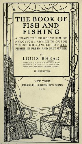 The book of fish and fishing.