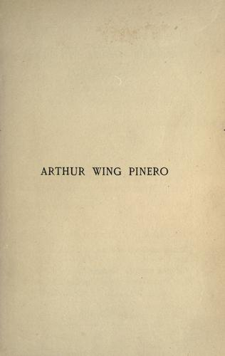 Download Arthur Wing Pinero, playwright