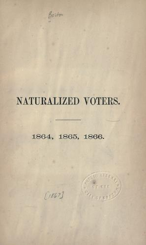 Download Naturalized voters