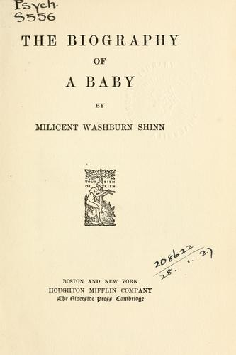 The biography of a baby.