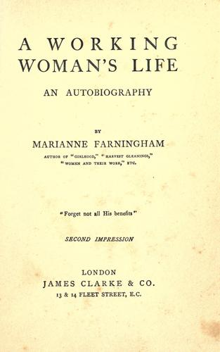 Download A working woman's life