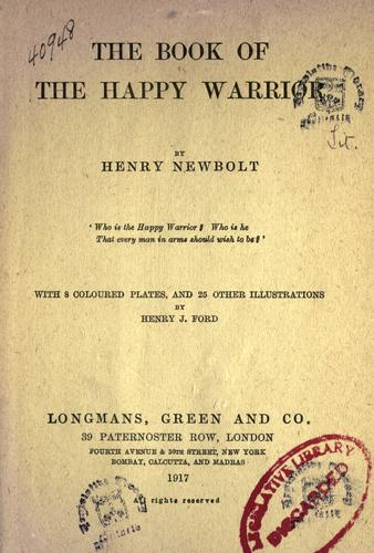 Download The book of the happy warrior