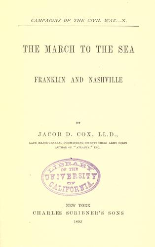Download The march to the sea