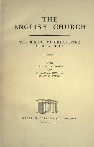 Download The English church