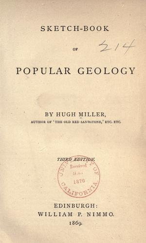 Download Sketch-book of popular geology