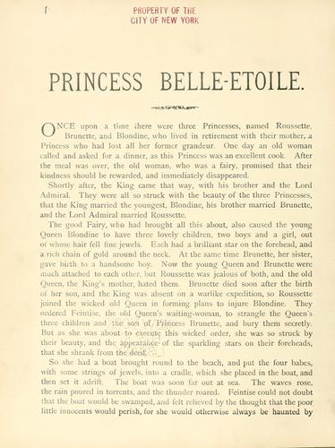 Princess Belle-Etoile.