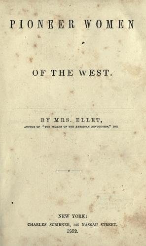 Download Pioneer women of the West.
