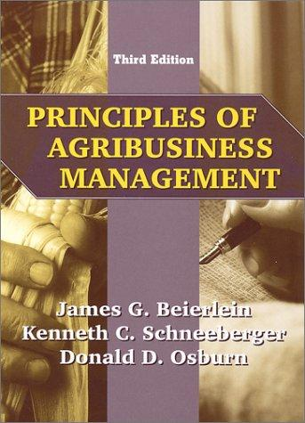 Principles of agribusiness management