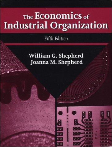 Download The economics of industrial organization