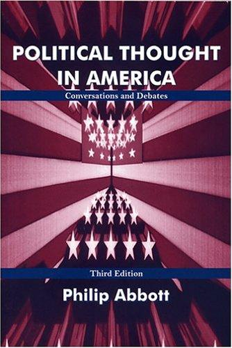 Download Political Thought In America