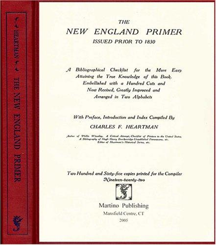 Download The New England primer issued prior to 1830