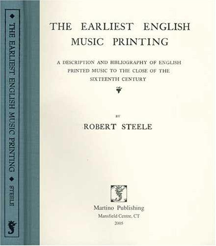 Download The earliest English music printing