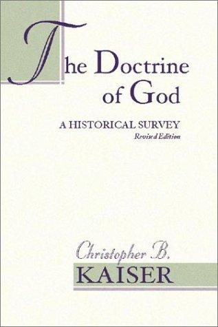 Download The Doctrine of God