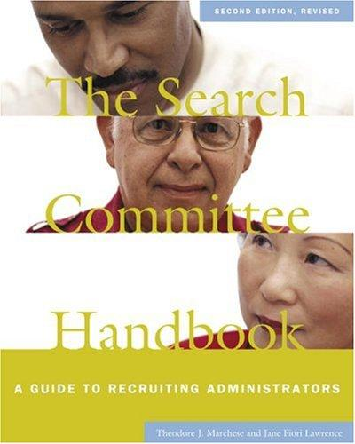 Download The search committee handbook