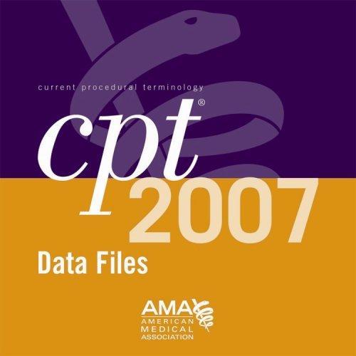 CPT 2007 ASCII Data Files