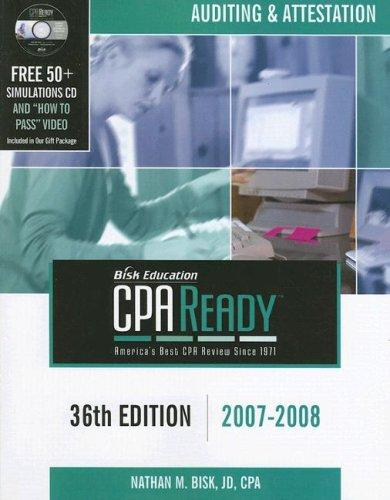 Download CPA Ready Comprehensive CPA Exam Review – 36th Edition 2007-2008