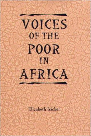 Voices of the Poor in Africa: