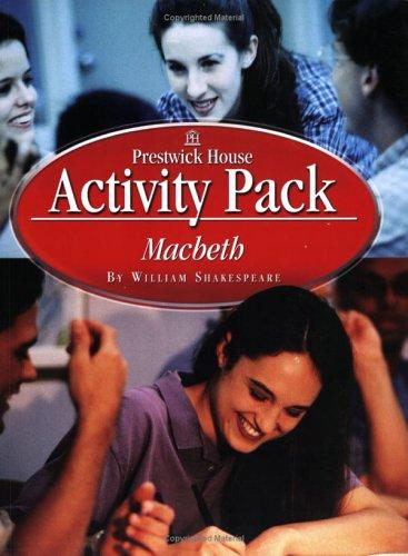 Macbeth Activity Packs by William Shakespeare